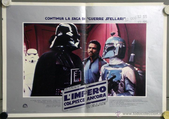 Cine: UK59 EL IMPERIO CONTRAATACA STAR WARS guerra de las galaxias SET 11 POSTERS ORIGINAL ITALIANO 47X68 - Foto 6 - 41925931