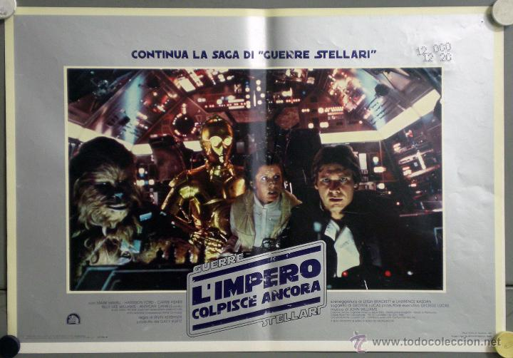 Cine: UK59 EL IMPERIO CONTRAATACA STAR WARS guerra de las galaxias SET 11 POSTERS ORIGINAL ITALIANO 47X68 - Foto 11 - 41925931