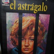 Cine: CARTEL DE CINE ORIGINAL DE LA PELÍCULA EL ASTRÁGALO, 70 POR 100CM. Lote 42058086