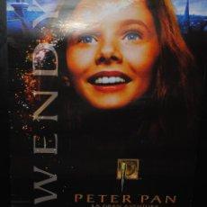 Cine: CARTEL DE CINE ORIGINAL DE LA PELÍCULA PETER PAN LA GRAN AVENTURA, 70 POR 100CM. Lote 42066215