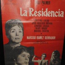 Cine: CARTEL DE CINE ORIGINAL DE LA PELÍCULA LA RESIDENCIA, 70 POR 100CM. Lote 42098793