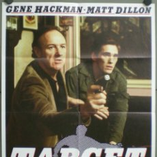 Cine: UL17 TARGET MATT DILLON GENE HACKMAN POSTER ORIGINAL ALEMAN 60X84. Lote 42115667