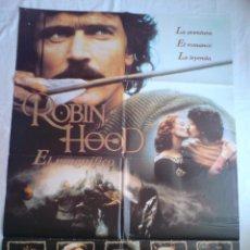 Cine: PÓSTER ORIGINAL ROBIN HOOD EL MAGNÍFICO. Lote 42157275