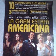 Cine: PÓSTER ORIGINAL LA GRAN ESTAFA AMERICANA . Lote 42185819