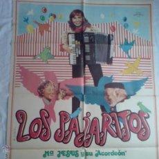 Cine: PÓSTER ORIGINAL LOS PAJARITOS . Lote 42251197