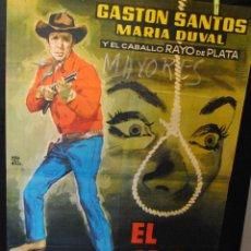 Cine: CARTEL DE CINE ORIGINAL DE LA PELÍCULA EL GRITO DE LA MUERTE, 70 POR 100CM. Lote 42259066
