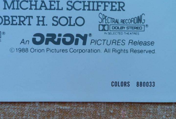 Cine: Colors (Colores) Póster original de la película, Doblado, 1988, Sean Penn, Robert Duvall - Foto 9 - 42275771