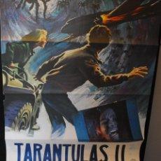Cine: CARTEL DE CINE ORIGINAL DE LA PELÍCULA TARANTULAS II, 70 POR 100CM. Lote 42286734