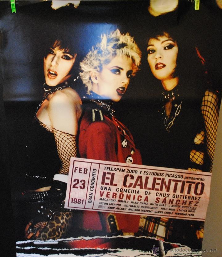 CARTEL DE CINE ORIGINAL DE LA PELÍCULA EL CALENTITO, 70 POR 100CM (Cine - Posters y Carteles - Musicales)