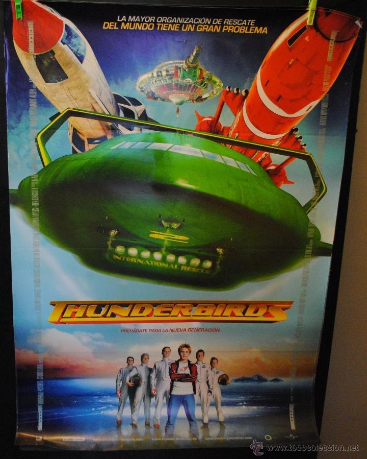 CARTEL DE CINE ORIGINAL DE LA PELÍCULA THUNDERBIRDS, LA NUEVA GENERACIÓN, 70 POR 100CM (Cine - Posters y Carteles - Infantil)