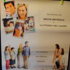 Cine: CARTEL DE CINE ORIGINAL DE LA PELÍCULA SPANGLISH, 70 POR 100CM. Lote 42306069