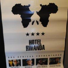 Cine: CARTEL DE CINE ORIGINAL DE LA PELÍCULA HOTEL RWANDA, 70 POR 100CM. Lote 42327106