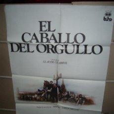Cine: EL CABALLO DEL ORGULLO CLAUDE CHABROL POSTER ORIGINAL 70X100 YY (554). Lote 42398177