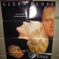 Cine: CITA CON VENUS GLENN CLOSE POSTER ORIGINAL 70X100 YY(569). Lote 42415473