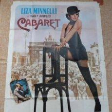 Cine: CABARET PÓSTER ORIGINAL DE LA PELÍCULA, DOBLADO, ITALIANO, 1972, LIZA MINNELLI, MICHAEL YORK, HELMUT. Lote 42445175