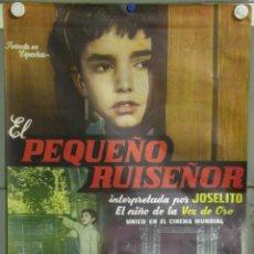 Cine: E1677 EL PEQUEÑO RUISEÑOR JOSELITO POSTER ORIGINAL 70X100 ESTRENO. Lote 42477120