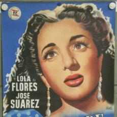 Cine: E1676 LA DANZA DE LOS DESEOS LOLA FLORES FLORIAN REY POSTER ORIGINAL 70X100 ESTRENO LITOGRAFIA. Lote 42477264