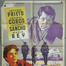 Cine: UM20 CUERDA DE PRESOS SOLIGO FERNANDO SANCHO GERMAN COBOS POSTER ORIGINAL 70X100 ESTRENO LITOGRAFIA. Lote 42482104