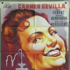 Cine: UM26 CUENTOS DE LA ALHAMBRA CARMEN SEVILLA RAGA POSTER ORIGINAL 70X100 ESPAÑOL LITOGRAFIA. Lote 42482748