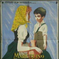 Cine: UM29 MARCELINO PAN Y VINO PABLITO CALVO POSTER ORIGINAL FRANCES 60X80 LITOGRAFIA. Lote 42505903