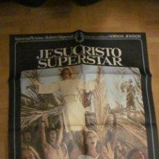 Cine: JESUCRISTO SUPERSTAR CARTEL ORIGINAL DEL ESTRENO 1MX70 DIR:NORMAN JEWISON 1973. Lote 42511662