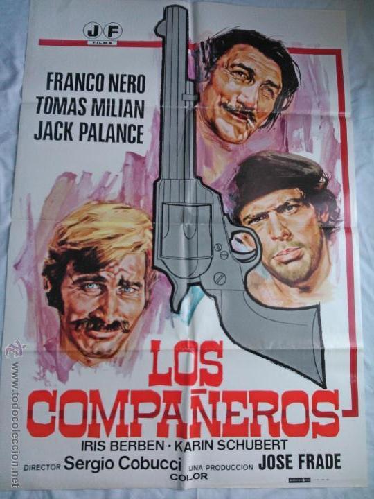 PÓSTER ORIGINAL LOS COMPAÑEROS (1980) (Cine - Posters y Carteles - Westerns)