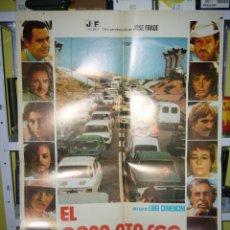 Cine: EL GRAN ATASCO ALBERTO SORDI FERNANDO REY ANGELA MOLINA POSTER ORIGINAL 70X100 D202. Lote 42531116