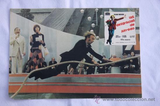 LAS DESGRACIAS DE ALFREDO. (Cine - Posters y Carteles - Clasico Español)