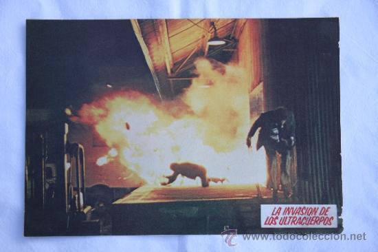 LA INVASION DE LOS ULTRACUERPOS. (Cine - Posters y Carteles - Clasico Español)