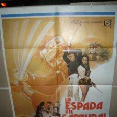 Cine: LA ESPADA DEL SAMURAI LAURA GEMSER POSTER ORIGINAL 70X100 YY (625). Lote 42553500