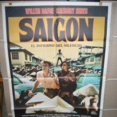 Cine: SAIGON WILLEM DAFOE POSTER ORIGINAL 70X100 D229. Lote 42569410