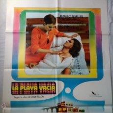 Cine: PÓSTER ORIGINAL LA PLAYA VACÍA (1977). Lote 42699931