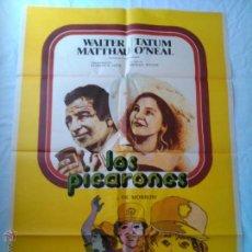 Cine: PÓSTER ORIGINAL LOS PICARONES (1977). Lote 42727152