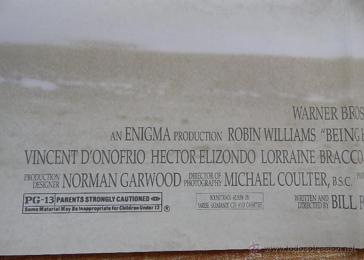 Cine: Being Human (Ser Humano) Póster original de la película, Doblado, Robin Williams, U.S.A. , año 1994 - Foto 9 - 42917726