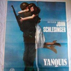 Cine: PÓSTER ORIGINAL YANQUIS (1980). Lote 42958484