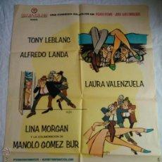 Cine: PÓSTER ORIGINAL LOS SUBDESARROLLADOS (1968). Lote 42958603
