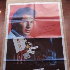 Cine: BREATHLESS (VIVIR SIN ALIENTO) PÓSTER ORIGINAL DE LA PELÍCULA, DOBLADO, U.S.A., 1983, RICHARD GERE. Lote 42979773
