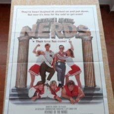 Cine: REVENGE OF THE NERDS (LA VENGANZA DE LOS NERDS) PÓSTER ORIGINAL DE LA PELÍCULA, DOBLADO, U.S.A, 1984. Lote 42983290
