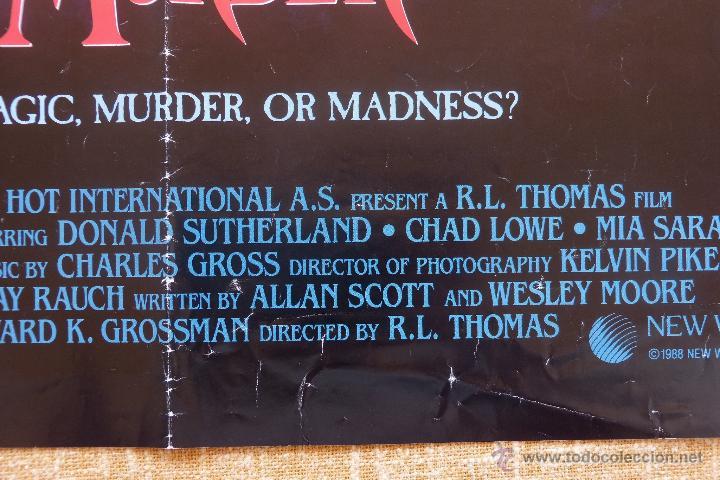 Cine: Apprentice to Murder (Aprendiz de Asesino) Póster original de la película, Doblado, U.S.A., año 1988 - Foto 8 - 43055519