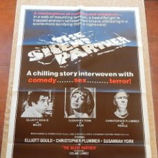 Cine: SILENT PARTNER (TESTIGO SILENCIOSO) PÓSTER ORIGINAL DE LA PELÍCULA, DOBLADO, U.S.A., AÑO 1979. Lote 43095437