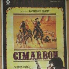 Cine: CIMARRON. CARTEL ORIGINAL DE CINE 70 X 100.. Lote 43204075