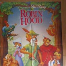 Cine: ROBIN HOOD. CARTEL ORIGINAL DE CINE 70 X 100.. Lote 43204295