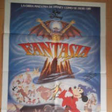 Cine: FANTASIA. CARTEL ORIGINAL DE CINE 70 X 100.. Lote 43204560