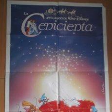 Cine: LA CENICIENTA. CARTEL ORIGINAL DE CINE 70 X 100.. Lote 43204772