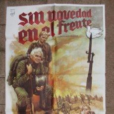 Cine: CARTEL CINE, SIN NOVEDAD EN EL FRENTE, RICHARD THOMAS, C99. Lote 43296751