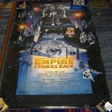 Cine: STAR WARS THE EMPIRE STRIKES BACK. EL IMPERIO CONTRAATACA. 1997. 100X70 CMS. BE.. Lote 43308050
