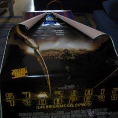 Cine: STARSHIP TROOPERS, LAS BRIGADAS DEL ESPACIO CARTEL DE MARQUESINA DE 175X120 CMS. BUEN ESTADO.. Lote 43308060