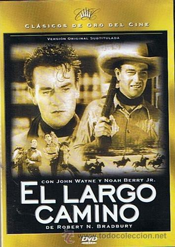 DVD EL LARGO CAMINO JOHN WAYNE NOHA BERRY (Cine - Posters y Carteles - Westerns)
