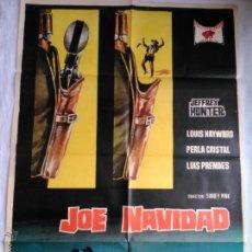 Cine: PÓSTER ORIGINAL JOE NAVIDAD (1967). Lote 43372409