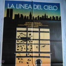 Cinema: PÓSTER ORIGINAL LA LINEA DEL CIELO (1983). Lote 43372673